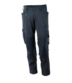 Trousers� with� kneepad� pockets,� stretch Trousers