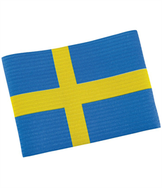 Stanno Captain's Armband Swedish Flag