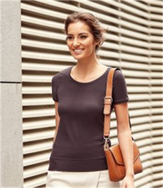 Ladies' Short Sleeve Strech Top