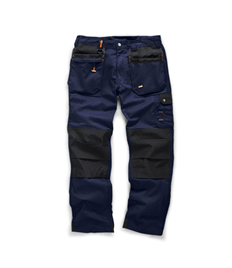 Scruffs Hardwear Navy Worker Plus Trouser