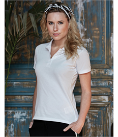 Tee Jays Ladies Heavy Polo