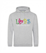 Adults Hoodie with 2 logos