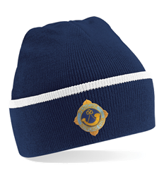 Penicuik Bowling Club Two Tone Wooly Hat