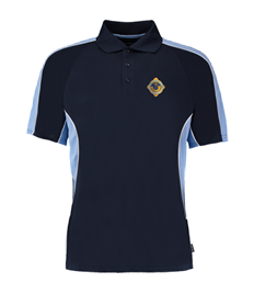 Penicuik Bowling Club Polo Shirt (badge + sponsor logo's)