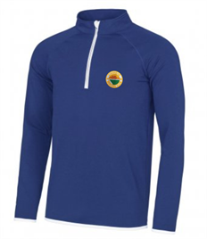 Loanhead Private Bowling Club 1/2 Zip Top