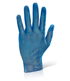 Disposable Vinyl Powdered Vinyl Gloves (100)